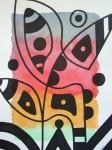 Obras de arte:  : España : Catalunya_Barcelona : Barcelona : IMPROVISACION(LINEA,PUNTO Y COLOR)