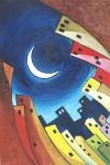 Obras de arte: Europa : Espa�a : Catalunya_Tarragona : Valls : Abrazando a la luna