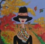 Obras de arte: America : Venezuela : Miranda : Caracas_ciudad : otoño