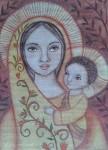Obras de arte: America : Venezuela : Miranda : Caracas_ciudad : Virgen de las Flores