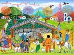 Obras de arte: America : Brasil : Pernambuco : Recife : Natividade Nordestina
