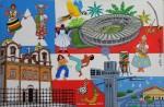 Obras de arte: America : Brasil : Pernambuco : Recife : Salvador - Bahia