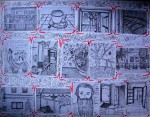 """Obras de arte: Europa : España : Catalunya_Barcelona :  :  """" 14 F's """""""