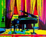 Obras de arte:  : España : Comunidad_Valenciana_Alicante : alicante_ciudad : SONATA PARA PIANO