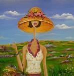 Obras de arte: America : Venezuela : Miranda : Caracas_ciudad : Primavera de la serie Cuatro Estaciones
