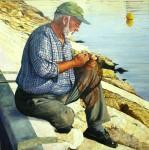 Obras de arte: Europa : España : Castilla_La_Mancha_Toledo : QUINTANAR : pescador