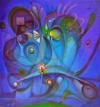 Obras de arte: America : Venezuela : Carabobo : Miranda_pueblo : el pajaro en su laberinto