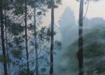 Obras de arte:  : Colombia : Antioquia : Medellin : Bosque con neblina