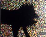 Obras de arte:  : México : Nuevo_Leon : Monterrey : Colorless Lion