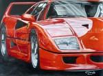 Obras de arte: America : Argentina : Buenos_Aires :  : Ferrari F40