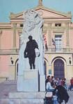 Obras de arte: Europa : España : Castilla_y_León_Burgos : burgos : Plaza Mayor (Palencia)