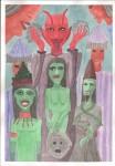 Obras de arte:  : España : Catalunya_Barcelona :  : los brujos