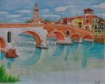 Obras de arte:  : Italia : Veneto :  : Ponte Pietra