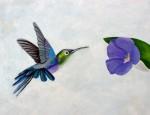Obras de arte:  : México : Chiapas : Tuxtla : Colibrí
