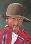 Obras de arte: America : Colombia : Antioquia : Medellin : NIÑA DEL PERU