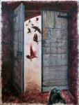 Obras de arte:  : España : Galicia_Pontevedra : Cangas : puerta 4