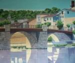 Obras de arte: Europa : España : Castilla_y_León_Burgos : burgos : A ORILLAS DEL RÍO