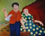 Obras de arte: America : Panamá : Veraguas : Santiago_de_Veraguas : Hermanos por siempre.