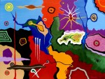 Obras de arte: Europa : España : Catalunya_Barcelona : Castelldefels : Pruebas de pintura 2