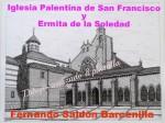 Obras de arte:  : España : Castilla_y_León_Palencia : palencia : IGLESIA DE SAN FRANCISCO (PALENCIA)