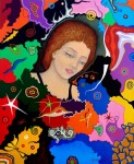 Obras de arte: Europa : España : Catalunya_Barcelona : Castelldefels : La Dama de Ezechiele
