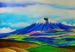 Obras de arte:  : Ecuador : Manabi :  : Volcán Cotopaxi