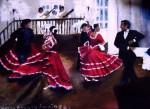 Obras de arte: Europa : Alemania : Nordrhein-Westfalen : Soest : Estampa Limeña Laly Varillas y Jesús La Madrid en el balcón de la tapada Limeña casa de Osambela