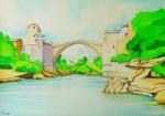 Obras de arte:  : Ecuador : Manabi :  : El Puente Viejo en Mostar