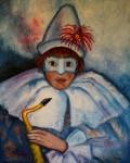 Obras de arte:  : España : Catalunya_Tarragona : Salou : Circo Ii (Clown)