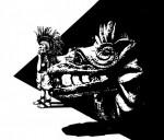 Obras de arte: America : México : Baja_California : Ensenada : Esperando a quetzalcoat