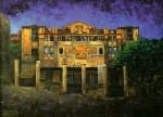 Obras de arte: Europa : España : Castilla_La_Mancha_Toledo : Ciudad_Madrid : NOCHE EN EL TEATRO CERVANTES DE TÁNGER