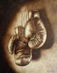 Obras de arte: Europa : España : Cantabria : Santander : boxeo