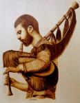 Obras de arte: Europa : España : Cantabria : Santander : gaita