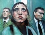 Obras de arte: Europa : España : Madrid : Madrid_ciudad : Jenny en el ascensor. Jennifer Connelly.