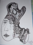 Obras de arte:  : España : Galicia_La_Coruña : Santiago_de_Compostela : muller 4