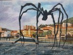 Obras de arte: Europa : España : Euskadi_Bizkaia : Bilbao : LA ARAÑA DE BILBAO