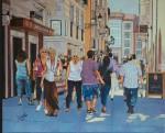 Obras de arte: Europa : España : Castilla_y_León_Burgos : burgos : Calle la paloma (Burgos)