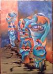 Obras de arte: America : Argentina : Buenos_Aires : CABA : La Grieta