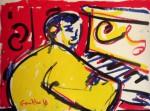 Obras de arte: Europa : España : Castilla_La_Mancha_Toledo : Toledo : El hombre del piano