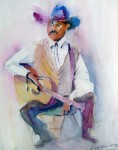 Obras de arte:  : Estados_Unidos : Florida : delray : Guitar Joe