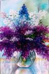 Obras de arte:  : España : Andalucía_Granada : Granada_ciudad : Jarrón de lilas