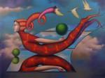 "Obras de arte: America : Perú : Lima : chosica : ""Reflejo"""