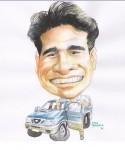 Obras de arte: America : Colombia : Santander_colombia : Bucaramanga : caricatura 10