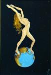 Obras de arte: America : Argentina : Rio__Negro : Bariloche : LA MUJER Y EL MUNDO