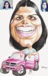 Obras de arte: America : Colombia : Santander_colombia : Bucaramanga : caricatura 12