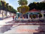 Obras de arte: Europa : España : Andalucía_Almería : Almeria : Paseo de los Baños - Roquetas de Mar