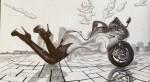 Obras de arte: America : México : Veracruz-Llave : Xalapa : Mujer Ducatti