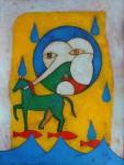 Obras de arte: America : Cuba : Ciudad_de_La_Habana : El_Vedado : Sereie : Van? A donde van?