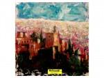 """Obras de arte:  : España : Andalucía_Granada : Granada_ciudad : OBRA -Extracto2-: """"DIPTICO -PEQUEÑA ALHAMBRA-"""""""