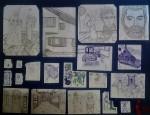 Obras de arte: Europa : España : Catalunya_Barcelona :  : Dibuixos varis 16-17